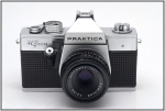 SC210963w.JPG Fixed eye-level open-aperture view finder (Pentaprism), stop down mechanically before exposure by simple mechanic.