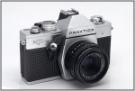 SC210966w.JPG TTL-metering using stopped-down metering controlled by a switch beside the lens mount above the shutter release knob.